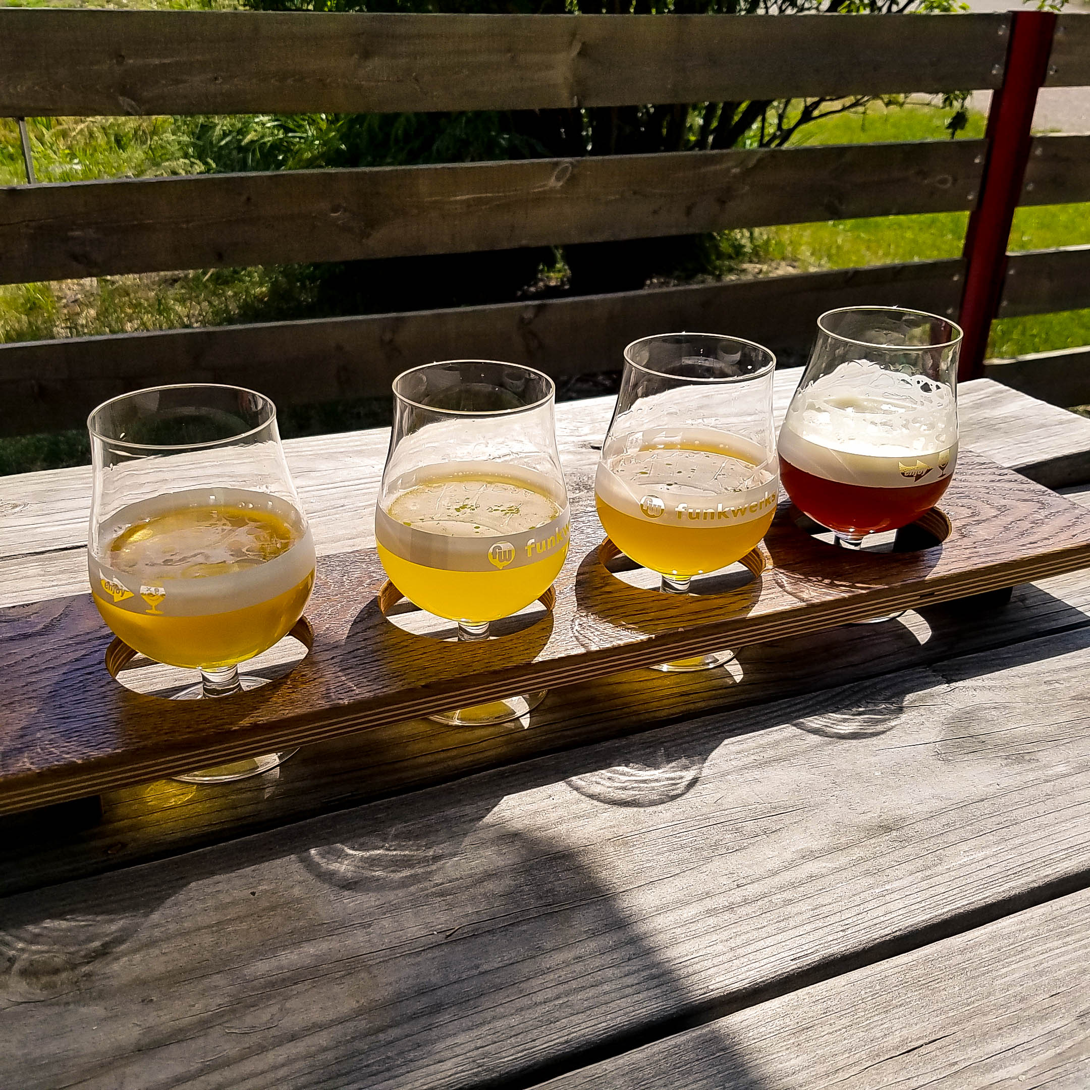 Funkwerks Tasting Flight
