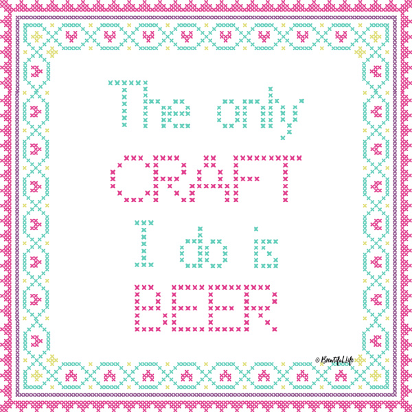 Craft I Do is Beer