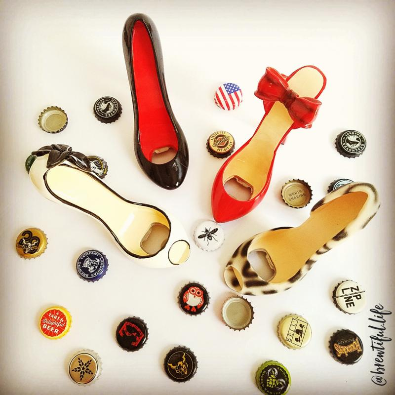 Shoe Bottle Openers Bottle Caps